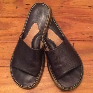 Born leather slides